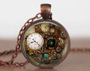 steampunk watch graphic