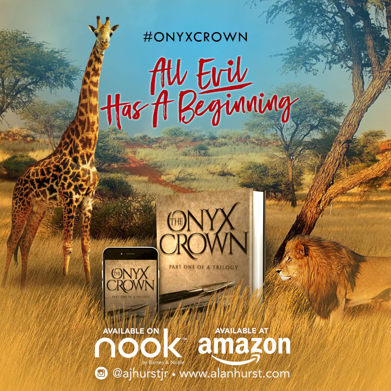 onyx crown poster - savannah