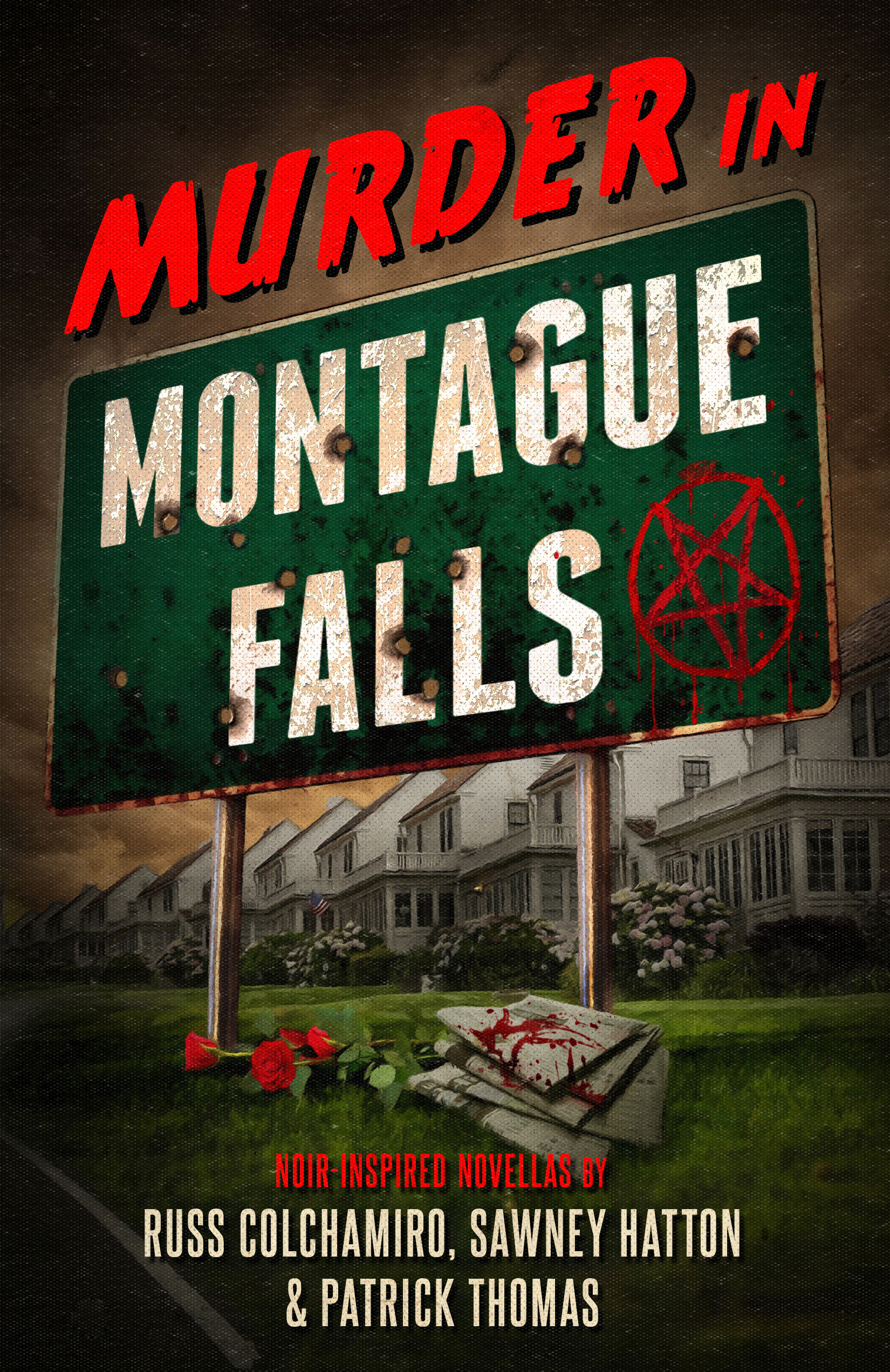 MURDER IN MONTAGUE FALLS ebook front cover