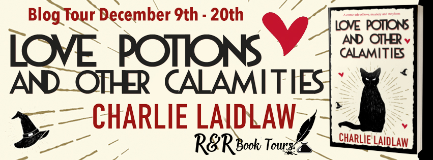 Love Potions blog tour banner