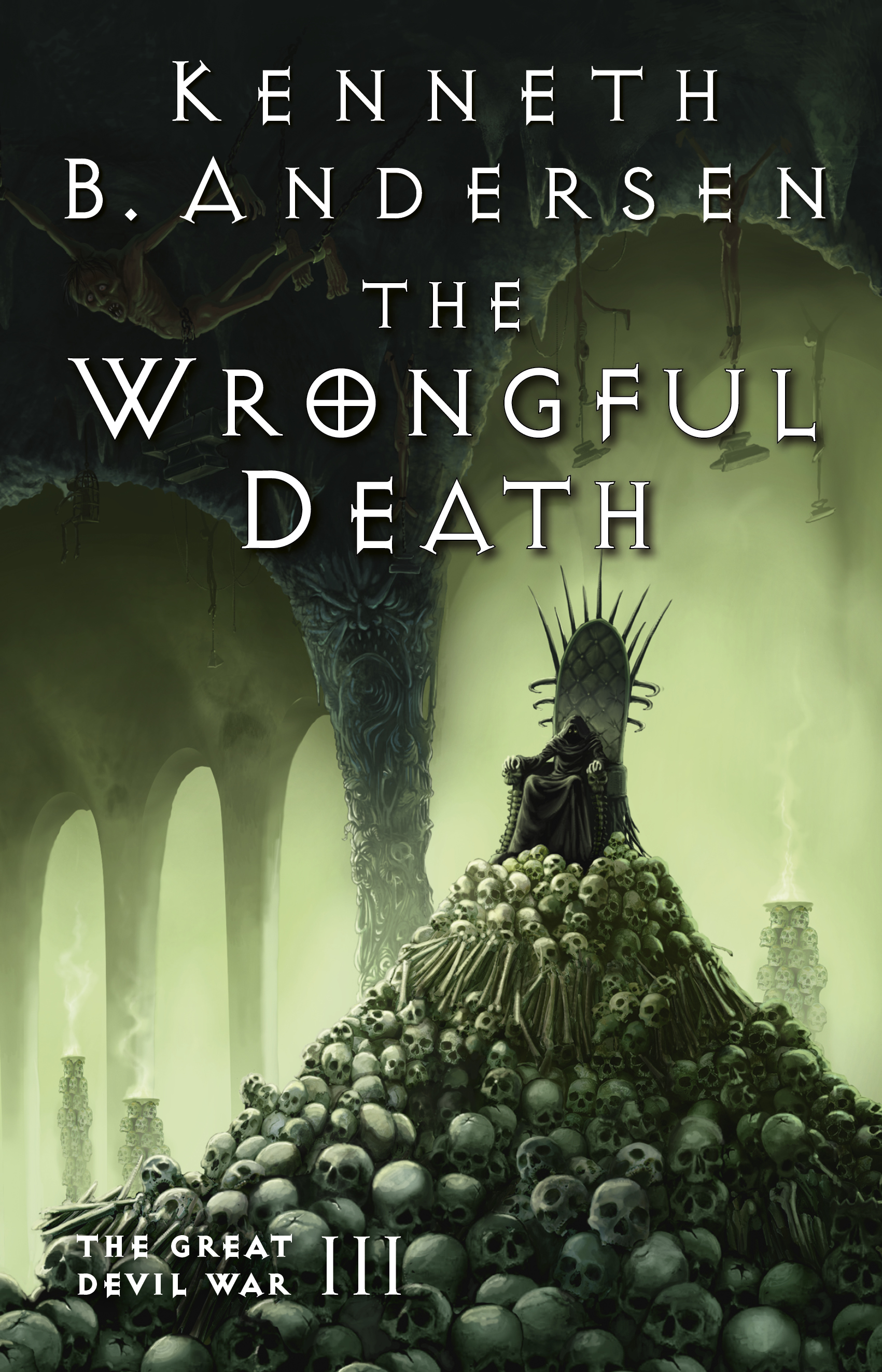 The Wrongful Death Cover - Book 3