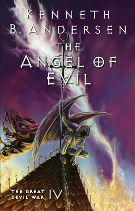 The Angel of Evil Cover - Book 4