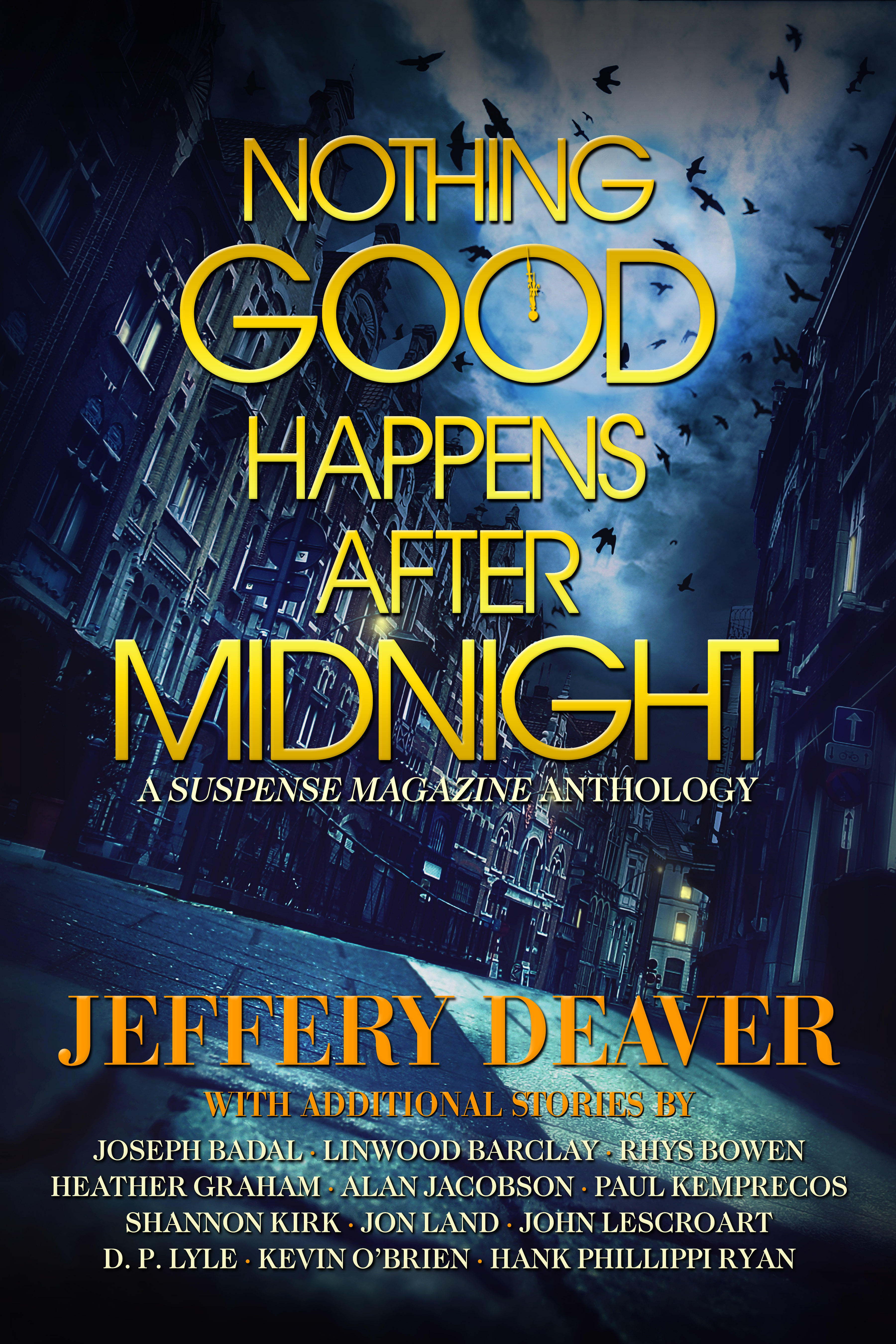Nothing Good Happens After Midnight_Suspense Magazine Cover_Hi Res